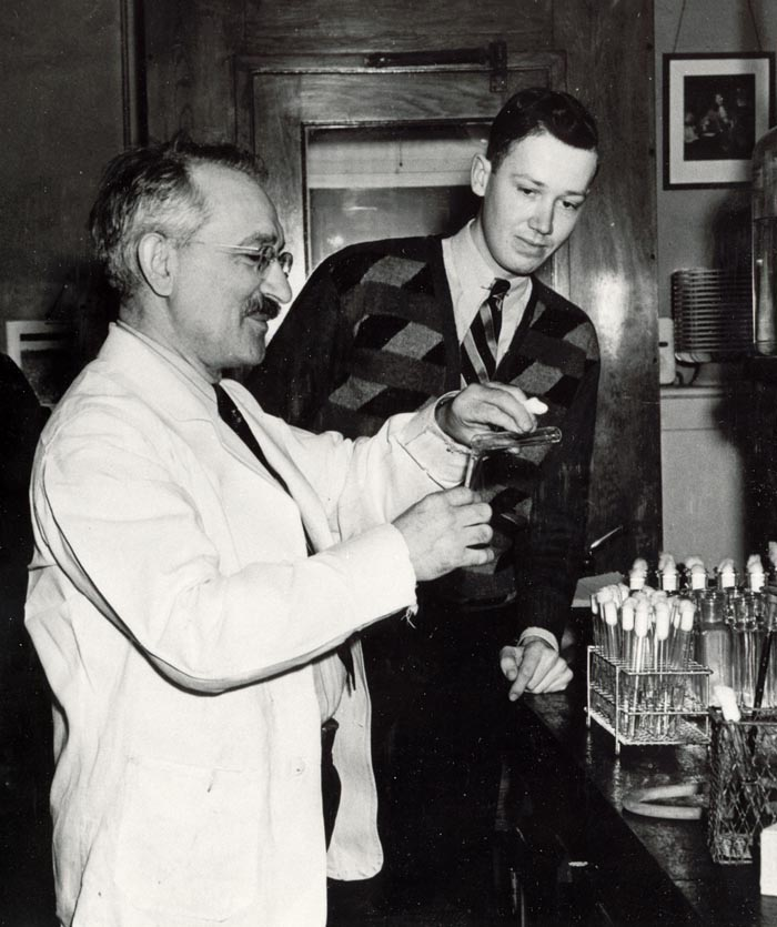 Left to Right: Drs Wasksman and Woodruff